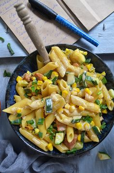 Pasta Salad, Salads, Food And Drink, Menu, Chicken, Vegetables, Cooking, Ethnic Recipes, Diet