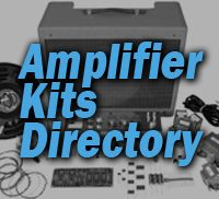 GuitarKitBulder's directory of guitar amp kits helps you find the amplifier kit you've been looking for.