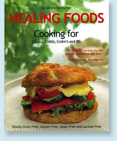Lucy's Kitchen Shoppe has a list of SCD cook books. These contain many advanced recipes, but it's comforting to envision the range of foods on the horizon as you heal!