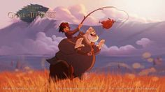 Game of Thrones reinvented as a Disney cartoon | Illustration | Creative Bloq