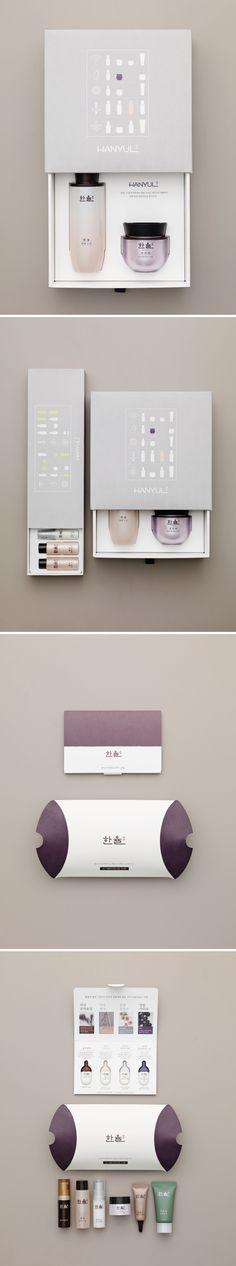 HANYUL Package Design_한율 패키지 디자인 Beautiful cosmetic packaging PD