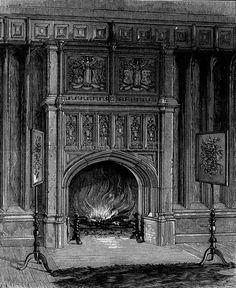 Boudoir of Anne Boleyn, in the Gateway of Hever Castle.