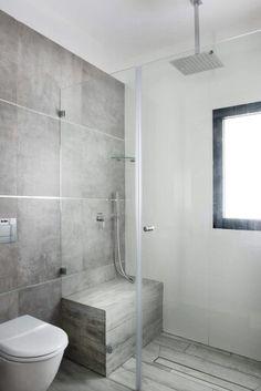 Badkamer ontwerp zonder bad wc google zoeken badkamer ontwerpen pinterest douches en - Eigentijdse badkamer grijs ...