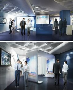 Exhibition design for the London 2012 Olympic games.
