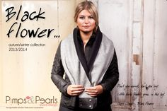 Black Flower autumn/winter collection Don't you worry don't you cry. Little black flowers grow, in the sky. Chris Isaak, Black Flowers, Winter Collection, Fall Winter, Autumn, Blazer, Cry, Pearls, Model