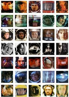 Thirty Five Images of Space Helmet Reflections via nevver