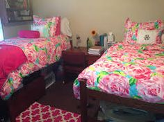 Preppy Dorm Room On Pinterest Dorm Room Dorm Room Beds