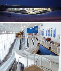 Calgary's ice house Bobsleigh, Ice Houses, Calgary, Competition, Parenting, Building, Fitness, Sports, Fun