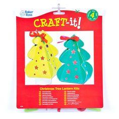 Kits de Lanternes Sapin de Noël que les Enfants pourront Confectionner (Lot de 4): Amazon.fr: Jeux et Jouets