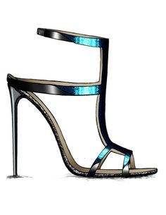 Shoe Sketches, Fashion Sketches, Renee Green, Fashion Illustration Shoes, Dress Shoes, Shoes Heels, Shoe Art, Stiletto Pumps, Cute Bags