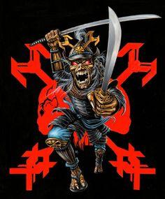 iron maiden artwork   Herve Monjeaud ArtWork/Iron Maiden/2011 JAPAN 2 Artwork