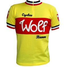Wolf wool cycling jersey