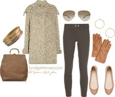 """Textured Cardigan"" by bridgetteraes on Polyvore"