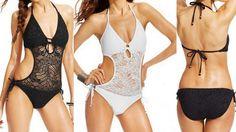 Polo Ralph Lauren monokini one-piece swimsuit on Sale now!