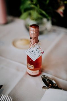 Add these DIY bohemian style printable favor tags to a mini champagne bottle (or other choice of alcohol) for a Wedding favor that is guaranteed to be a hit with your guests! And you can create personalized favor tags so easily too. Edit. Download and Print.