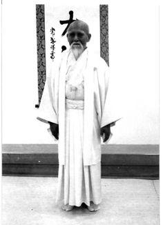 Morihei Ueshiba O Sensei - 植芝盛平先生