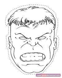 Hulk Maskesi Boyama Google Da Ara Hulk Sanat Dersleri Maskeler