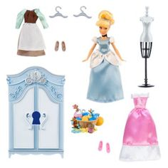 Ensemble garde-robe Cendrillon