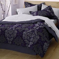 I think this might be the comforter set for me! WestPoint Home Evans Bed in a Bag Set
