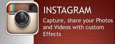 Instagram: capture,share your photos and videos with custom effects...