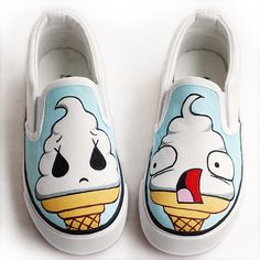 Child canvas shoes male shoes girls shoes children cow muscle shoes hand-painted canvas shoes outsole strapless wrapping foot $920,58