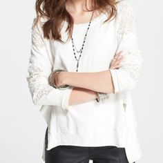 Free People sweater. Size S. Color Ivory. Free People sweater. Size S. Color Ivory. NWT Free People Sweaters