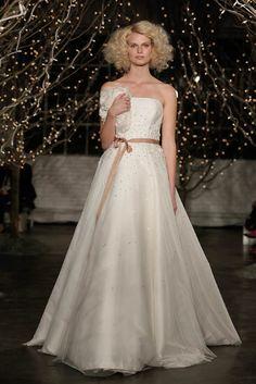 Jenny Packham presentación Otoño 2014 Colección de novia en Nueva York