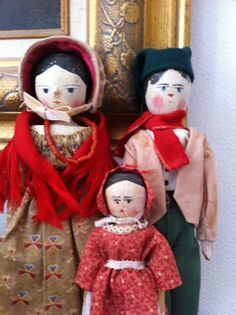 wooden farthing dolls christmas - Google Search
