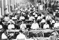 Unit11: This picture shows immigrants working in factories as an occupation and a pull factor. This is what I learned from this unit. 1. Canada is a country that is made up almost entirely of immigrants. 2. There were economic immigrants, family immigrants and refugees. 3. People immigrate for either push or pull factors. Foremost, war in their home country was making it too dangerous for them to live and/or the freedom to live their lives in a way their current country restricts.