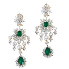 Classic Pearl & Green Danglings  Product Code : ADERL1400027   Type : Green Hydro, Swarovski   Color : Green  #SilverEarringsOnlineShopping  #SilverEarringsOnlineIndia  #SilverEarringsIndia    #SilverEarringsOnline  #BuySilverEarringsOnline  #SilverEarringsForWomen  #SilverEarring #DesignerSilverEarrings  #BuySilverEarrings  #SilverEarrings  #Earrings