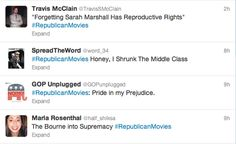 results for #republicanmovies - this is awesome