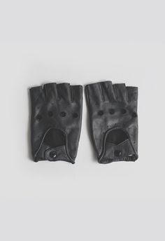 Profound Aesthetic Genuine Leather Cut-Off Driving Gloves at http://profoundco.com/collections/leather-gloves