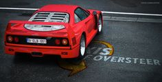 Thinking about a Pinboard dedicated to the F40. I don't think it's possible to get tired of looking at this thing...
