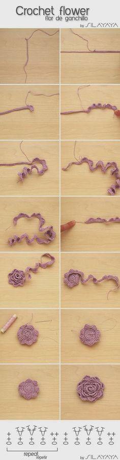 ROSE E FIORI, lo spazio di lilla, blog di artigianato, hobby e DIY. Schemi maglia, crochet, cucito creativo, punto croce. Tutorials fotografici e videotutorial.