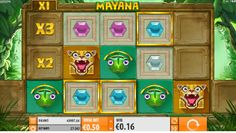 The producers from Quickspin did a good job and this brick-style slot machine game has a relatively high fun factor, considering the extremely simple graphics. #Mayanaslot #machinegame