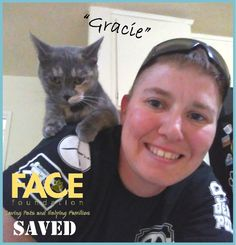 """Meet """"Gracie!"""" This summer, Gracie accidentally swallowed some type of rubber which got stuck in her intestines. She wasn't able to eat, and was extremely sick. Gracie's veterinarian, South Bay Veterinary Hospital, determined she needed an emergency surgery. Thankfully, FACE was able to help!"""