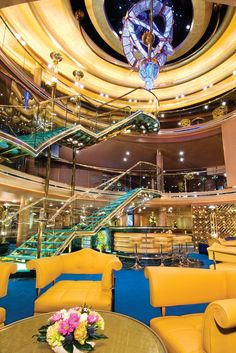 Cruises on ms Noordam, a Holland America Line cruise ship.....great service...not for small children though....