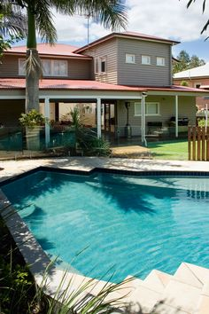 Queensland Homes Blog > Real Brisbane Home Real Home: Great Expectations  #pool #qldpools #qldhomes