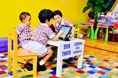 Technology is a Boon-Use it in a right way… White Fields British Nursery -An innovative learning experience...