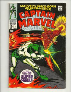 Captain Marvel No. 2 - Marvel Comics Group - June 1968