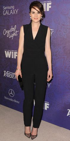 The Ladies Of Downton Abbey Best Off-Screen Style Moments - Michelle Dockery from #InStyle