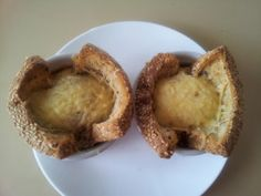 Baked Eggs in Toast Cups With Melty Cheese. Photo by I'mPat