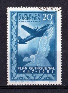 Argentina 1951 Aéreo  - Plan Quinquenal