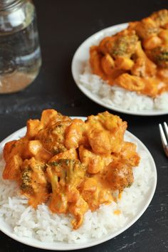 Simple coconut chicken curry - yum!