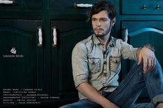 Der Stefashionist: Fashion, Passion & Models: Cristian Hanga by Akshar Dhanani for London Révés