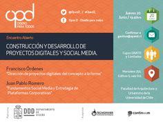 Afiche Encuentro mensual de Diseñadores Open D #OpenD_