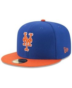 New Era New York Mets Batting Practice Diamond Era 59FIFTY Cap - Blue 7 3  d4aa8784522