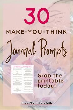 I'M loving these printable journal prompts! they're making me think about some of my intentional living goals, and realize i need to bring more mindfulness Journal Jar, Love Journal, Writing Therapy, Journal Writing Prompts, Bullet Journal How To Start A, Journal Inspiration, Journal Ideas, Coping Skills