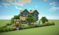 Pictures of minecraft victorian house blueprints - Minecraft World, Minecraft Houses Xbox, Minecraft House Tutorials, Minecraft Houses Blueprints, Minecraft House Designs, Minecraft Tutorial, Minecraft Creations, Cool Minecraft, How To Play Minecraft