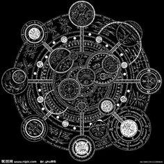 Magic Symbols, Ancient Symbols, Spell Circle, Rune Tattoo, Magic Design, Psy Art, Magic Circle, Sacred Geometry, Runes